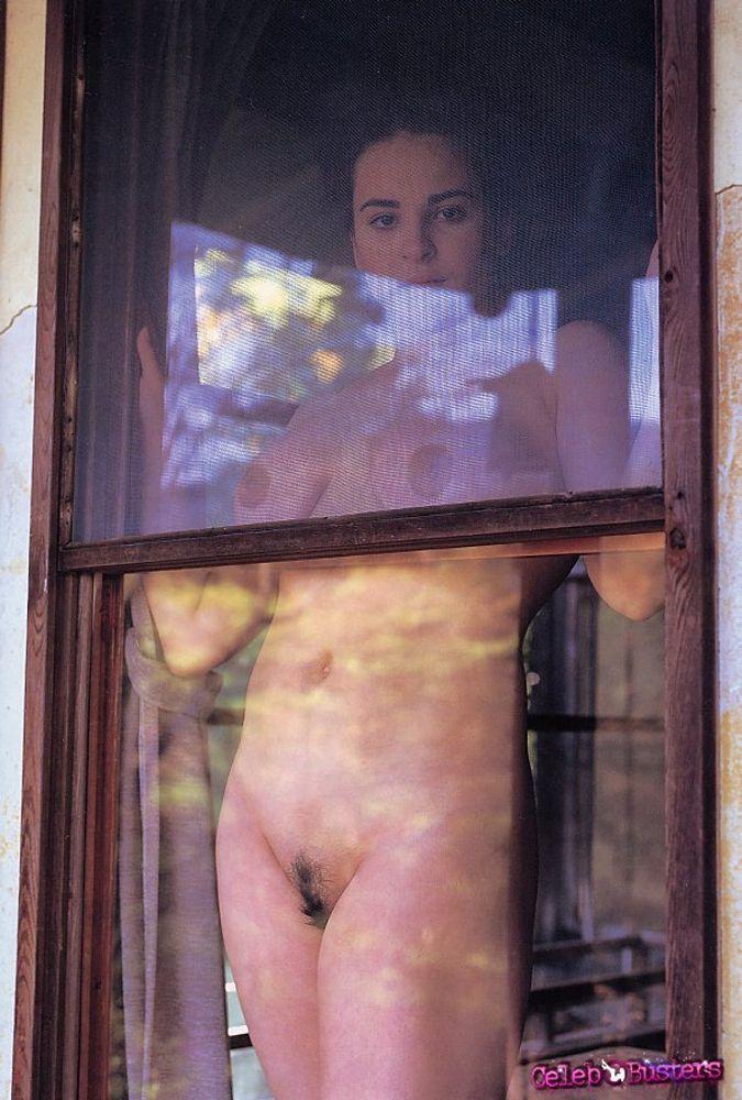 Corina Ungureanu shaved pussy
