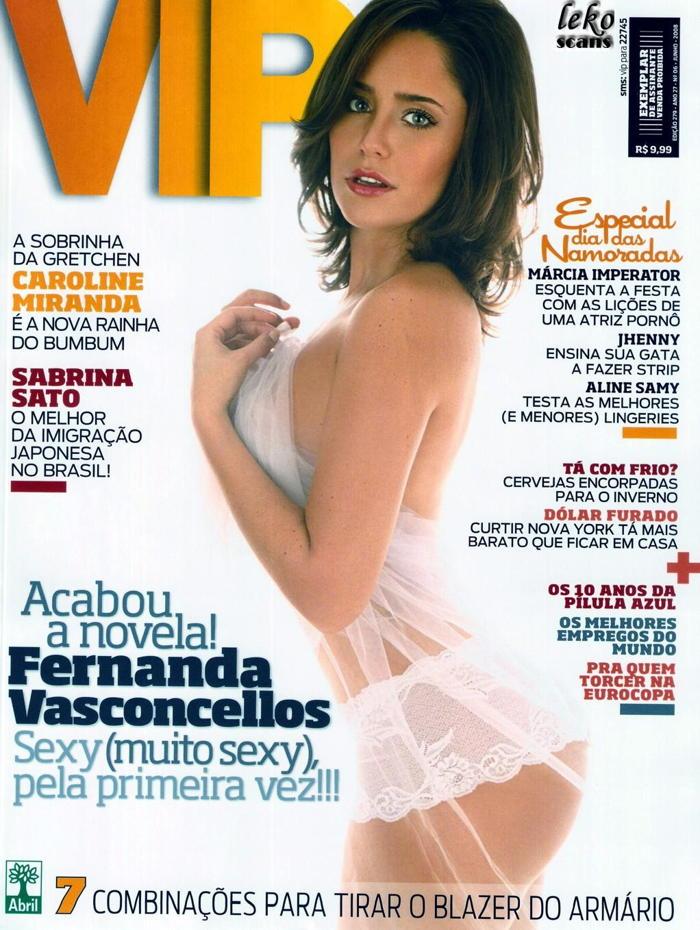 Fernanda Vasconcellos lingerie