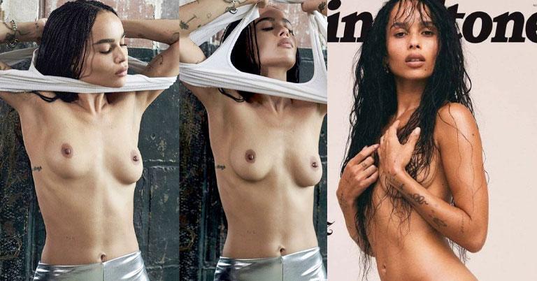 Zoe Kravitz nude